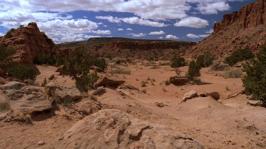 O deserto sem o trailer e o Walter