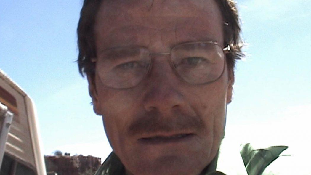 Walter gravando uma mensagem pela câmera