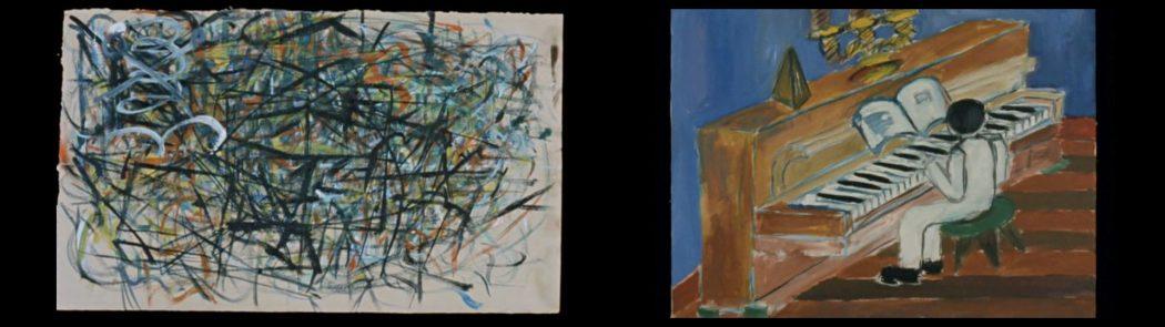 Imagens do inconsciente. As constantes idas e vindas entre a abstração e o figurativo na arte de Fernando.