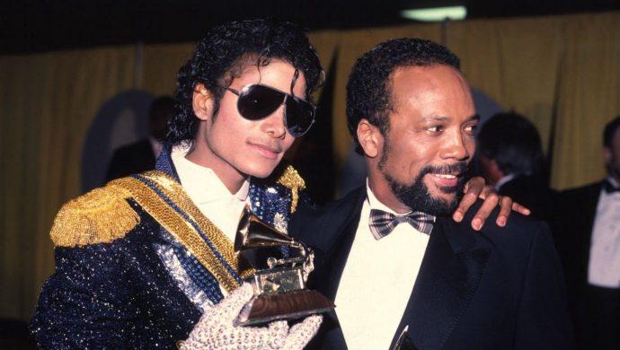 Michael Jackson e Quincy Jones