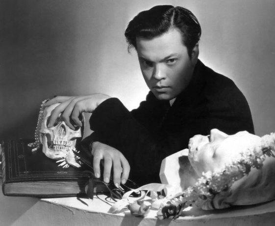 Orson Welles fotografado por Cecil Beaton.