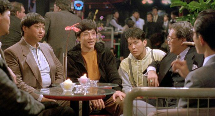 Sammo Hung, Yuen Biao e Jackie Chan.