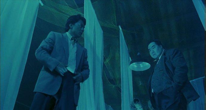 Jackie Chan e Kent Cheng se encaram