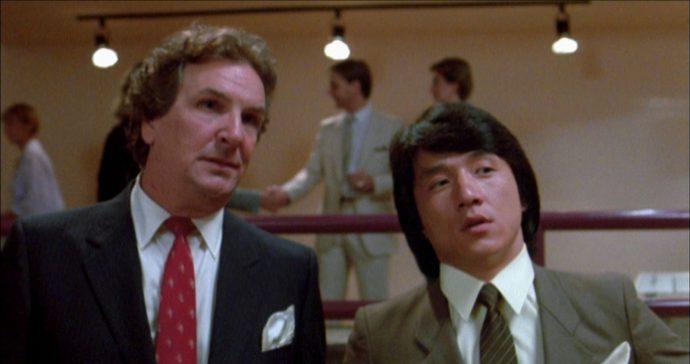 Danny Aiello e Jackie Chan
