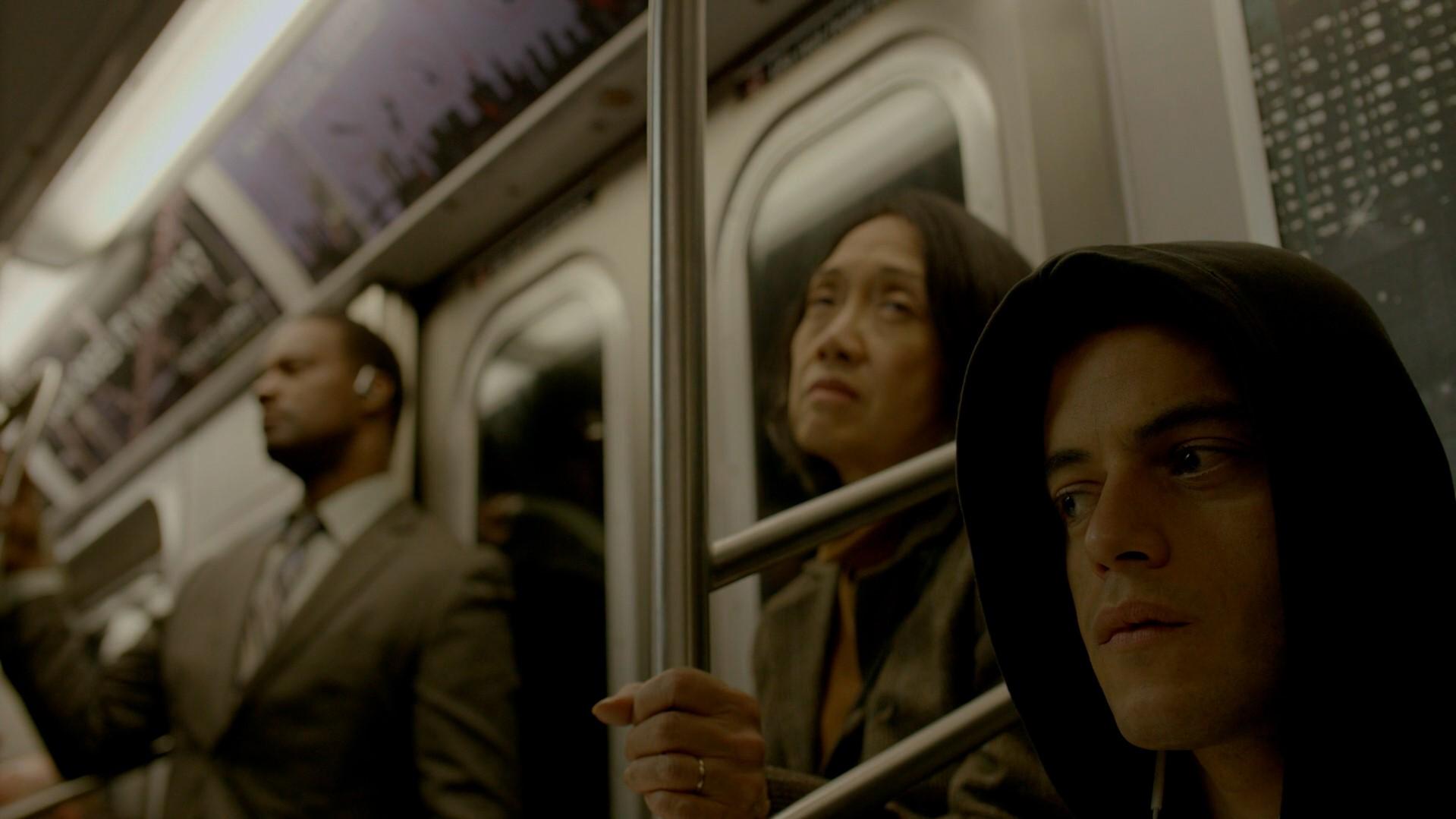Elliot no metro